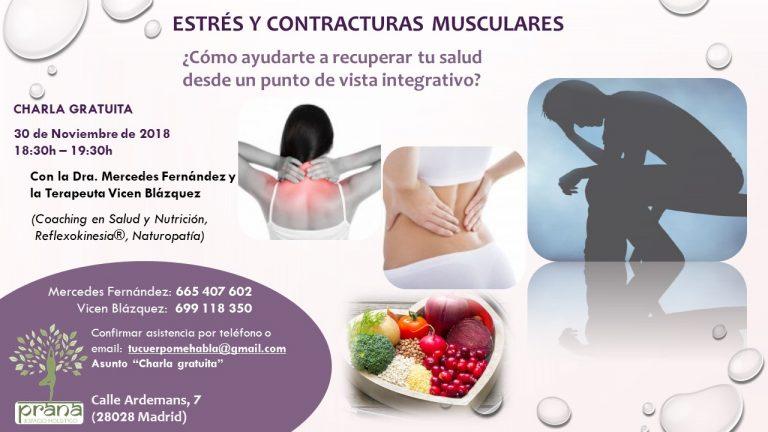 Estrés y contracturas musculares [30-11-2018]