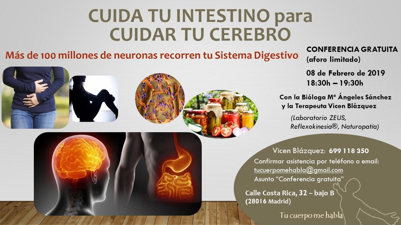 Cuida tu intestino para cuidar tu cerebro [08-02-2019]
