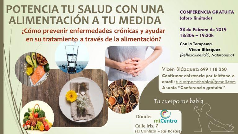 Potencia tu salud con una alimentación a tu medida [28-02-2019]