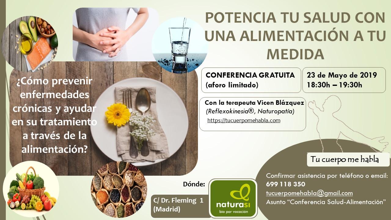 Potencia tu salud con una alimentación a tu medida [23-05-2019]