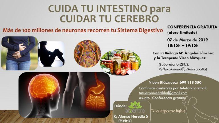 Cuida tu intestino para cuidar tu cerebro [07-03-2019]