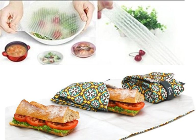 Envoltorios de silicona y tela