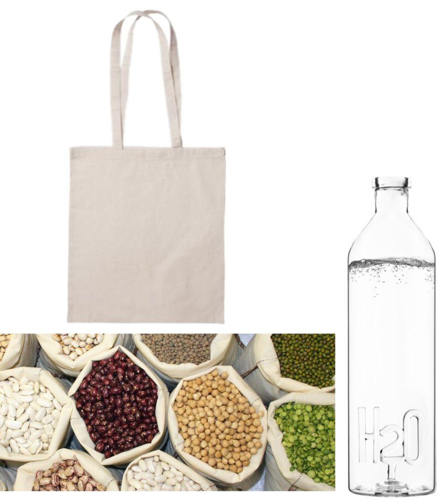 Bola de tela, comprar a granel y botella de cristal