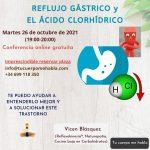 REFLUJO GÁSTRICO y el ÁCIDO CLORHÍDRICO [conferencia 26-10-2021]